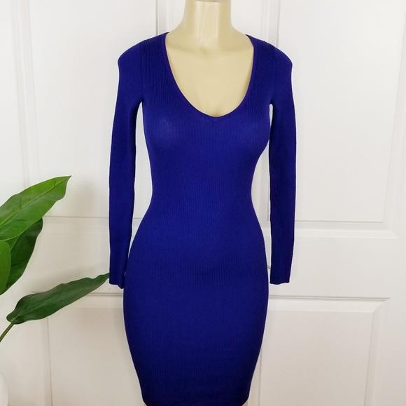 Forever 21   Midi Dress Royal Blue